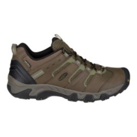 Keen Men's Koven Low Waterproof Hiking Shoes - Canteen/Dark Olive