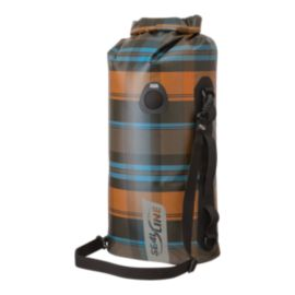 SealLine Discovery Deck Dry Bag 20L - Olive Plaid