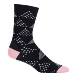 Icebreaker Women's Lifestyle Fine Gauge Crew Dot & Dash Socks