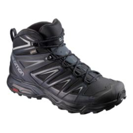 Salomon Men's X Ultra 3 Mid GTX Hiking Boots - Black/India Ink