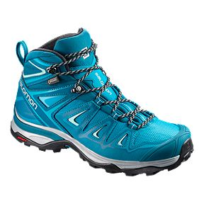 8e359f5f132e Salomon Women s X Ultra 3 Mid GTX Hiking Boots - Lagoon Blue