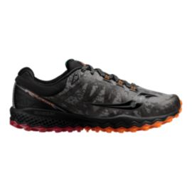 Saucony Men's Peregrine 7 RunShield Running Shoes - Black/Red