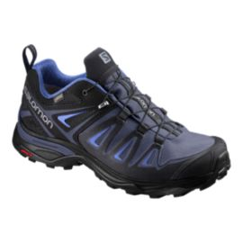 Salomon Women's X Ultra 3 GTX Hiking Shoes - Crown Blue/India Ink