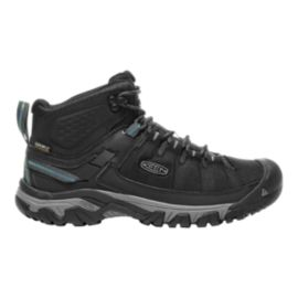 Keen Men's Targhee Exp Mid Waterproof Hiking Shoes - Black/Grey