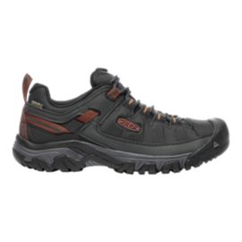 Keen Men's Targhee Exp Waterproof Hiking Shoes - Black/Raven/Red