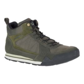 Merrell Men's Burnt Rock Tura Mid  Boots - Dusty Olive