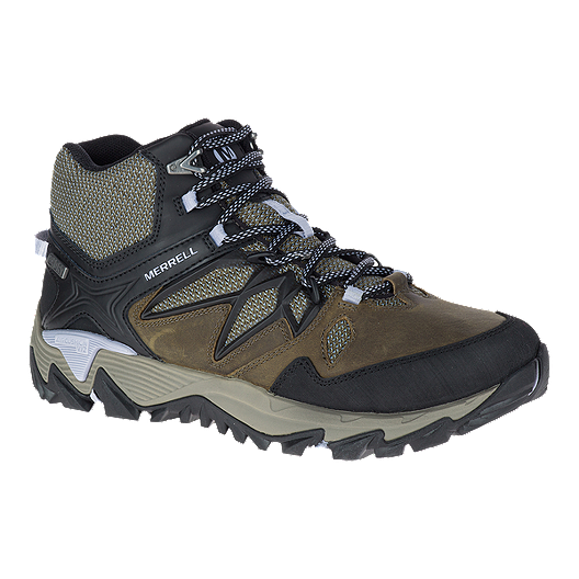 38636f22 Merrell Women's All Out Blaze 2 Mid Waterproof Hiking Shoes - Dark ...