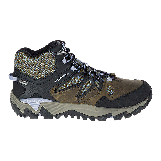 479b68951233a Merrell Women's All Out Blaze 2 Mid Waterproof Hiking Shoes - Dark Olive