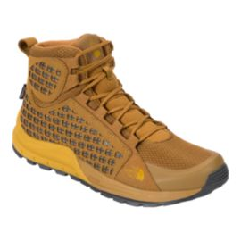 The North Face Men's Mountain Sneaker Mid Waterproof Boots - Golden/Arrow