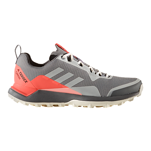 18f8cd14800454 adidas Women s Terrex CMTK GoreTex Hiking Shoes - Grey