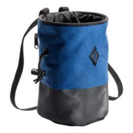 Black Diamond Mojo Zip Chalk Bag - M/L Denim/Slate