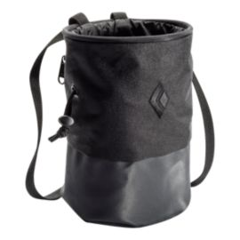 Black Diamond Mojo Zip Chalk Bag - M/L Black/Slate