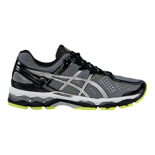 buy popular 906db 1524a ASICS Men s Gel Kayano 22 Running Shoes - Grey Silver Lime   Atmosphere.ca