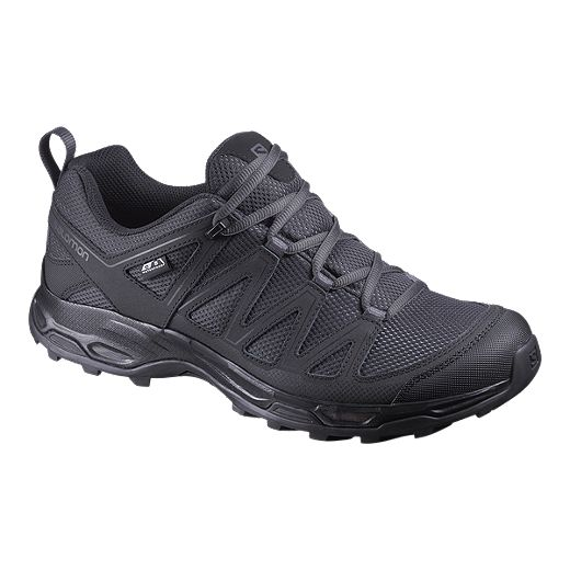 Salomon Men's Pathfinder Waterproof Hiking Shoes - Phantom/Black