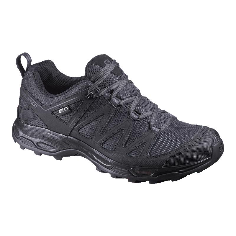 f6dae0a982 Salomon Men's Pathfinder Waterproof Hiking Shoes - Phantom/Black