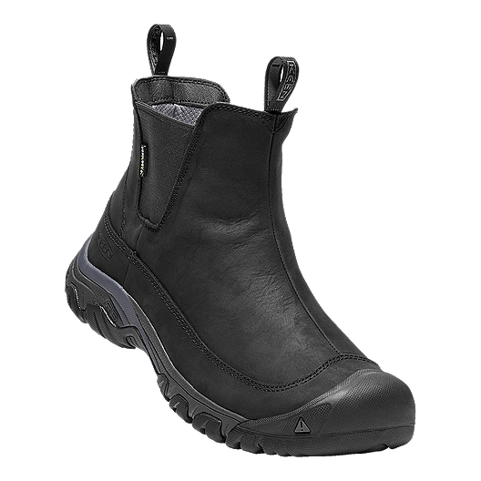 c989cd03a7a Keen Men's Anchorage III Waterproof Winter Boots - Black