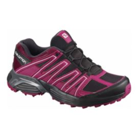 Salomon Women's XT Maido Running Shoes - Black/Pink/Red