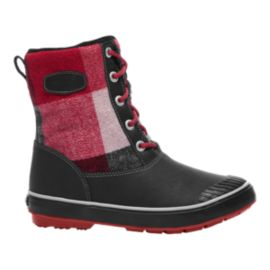 Keen Women's Elsa Waterproof Winter Boots - Dahlia/Plaid