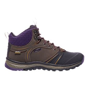 Keen Women s Terradora Wintershell Waterproof Winter Boots - Multch Plum 70f0aec7d