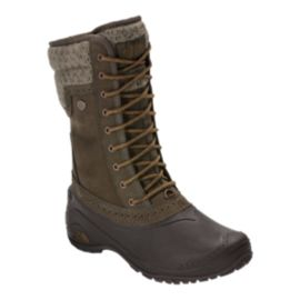 The North Face Women's Shellista II Mid Winter Boots - Tarmac/Tapenade