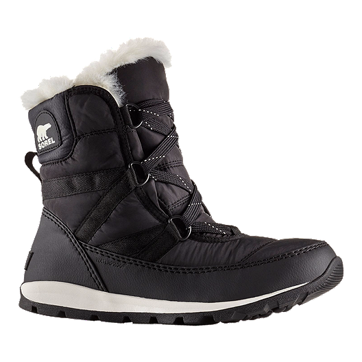 402e5f7a Sorel Women's Whitney Short Lace Winter Boots - Black