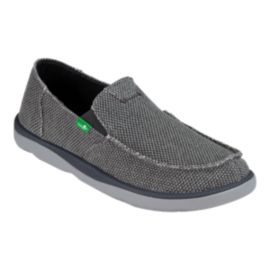 Sanuk Men's Vagabond Tripper Surfers - Charcoal