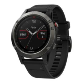 Garmin fēnix 5 GPS Watch - Slate Grey with Black Band