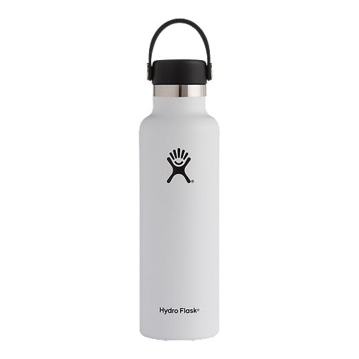 Hydro Flask 21 oz Standard Mouth Water Bottle - White