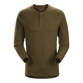 Arc'teryx Men's Sirrus Henley Long Sleeve Shirt - Dark Moss - Prior Season