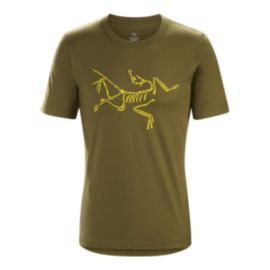Arc'teryx Men's Skeletal Short Sleeve T Shirt - Roman Pine