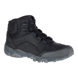 Merrell Men's Coldpack Ice + Mid Waterproof Boots - Black