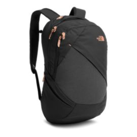 The North Face Women's Isabella 21L Day Pack - Black Heather/Burnt Coral