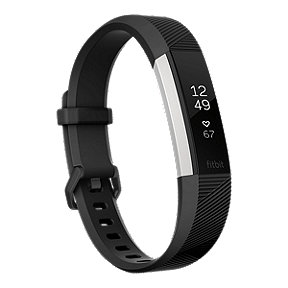 Fitbit Alta HR Activity Tracker - Black Large