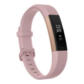 Fitbit Alta HR Activity Tracker - Pink Rose Gold Large