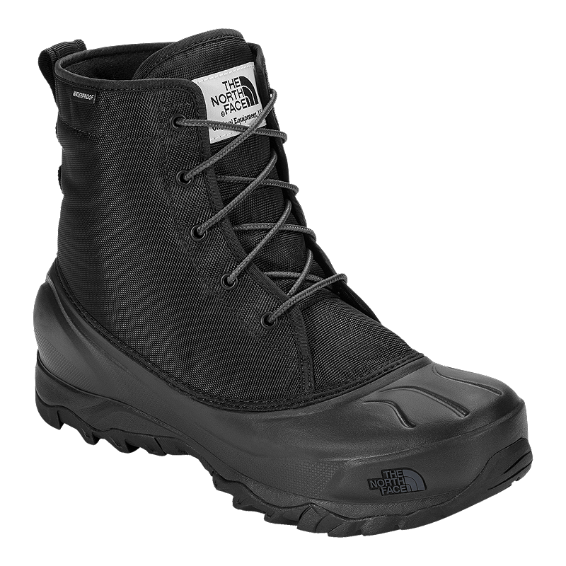 c24f24cc4 The North Face Men's Tsumoru Winter Boots - Black/Grey | Atmosphere.ca