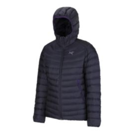Arc'teryx Women's Cerium LT Down Hooded Jacket - Black Sapphire - Prior Season