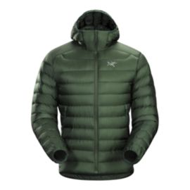 Arc'teryx Men's Cerium LT Down Hooded Jacket - Cypress