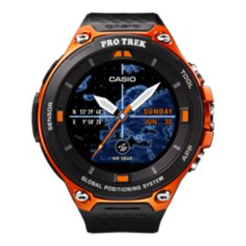 Casio Pro Trek Smart Watch - Black/Orange