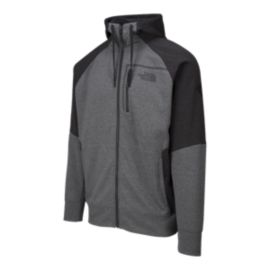 The North Face Mountain Athletics Men's Mack Eaze Full Zip Hoodie  - Medium Grey