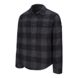 The North Face Men's Campground Sherpa Jacket  - Grey Plaid