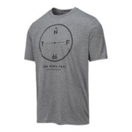 The North Face Mountain Athletics Men's Reaxion Outdoor Graphic T Shirt - Grey