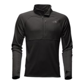The North Face Mountain Athletics Men's Ambition 1/4 Zip Long Sleeve Shirt - TNF Black