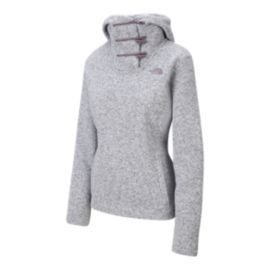 The North Face Women's Crescent Pullover Hoodie - Light Grey