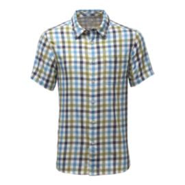 The North Face Men's Road Trip Plaid Short Sleeve Shirt - Green