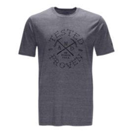 The North Face Men's Pickaxe Tri-Blend Short Sleeve T Shirt - Grey