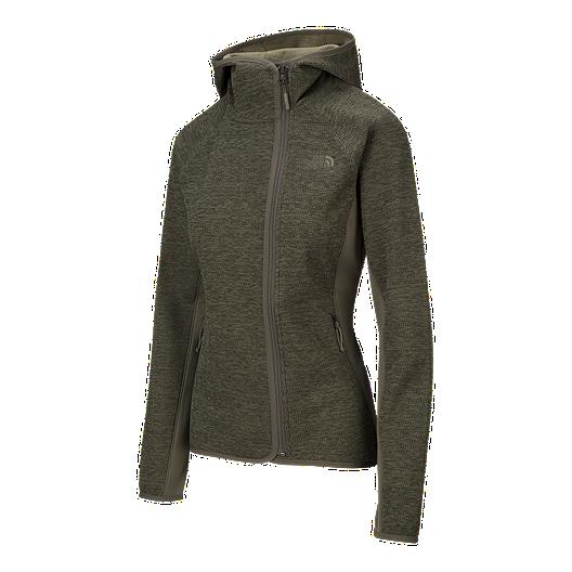 15085a7ed The North Face Women's Arcata Asymmetrical Hoodie - Green ...