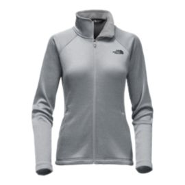 The North Face Women's Agave Full Zip Jacket  - Medium Grey