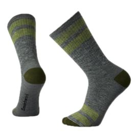 Smartwool Men's Striped Hike Medium Crew Socks