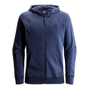 Black Diamond Men's Logo Hoodie - Captain Navy