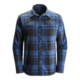 Black Diamond Men's Stretch Technician Long Sleeve Shirt - Denim Blue
